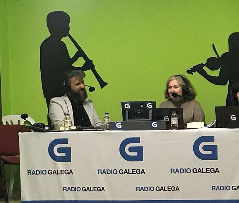 Entrevista a N. Wolf en el programa Somos Quen de Radio Galega