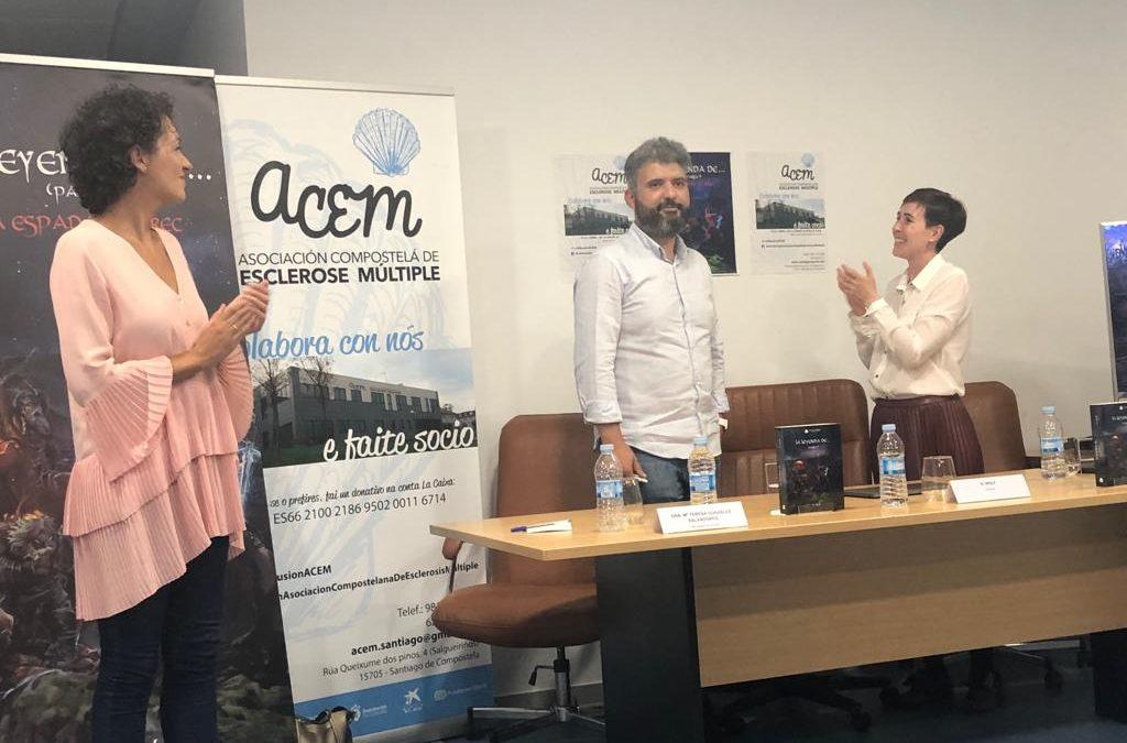 Éxito en la presentación de La Leyenda en ACEM con N. Wolf